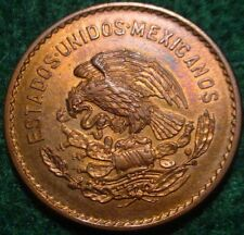 HI GRADE BU RED 1945 5 CENTAVOS MEXICO**SUPERB DETAILS