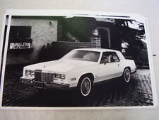 1980 CADILLAC ELDORADO COUPE 11 X 17  PHOTO  PICTURE
