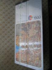 🧩 Jigsaw Puzzle Mordillo Heye City Romantic Town  Motor 1500 Poster 🧩