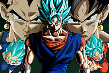 Dragon Ball Super Vegito Super Saiyan Blue 12inchesx18in Poster Free Shipping