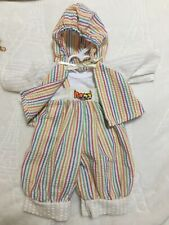 Vintage Made For Cabbage Patch Kids Clothes Doll Cpk Outfit Set Preemie Newborn