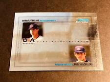 2010 Bowman Chrome OVERSIZE PROOF MISSING AUTOS Bubba Starling Lance McCullers
