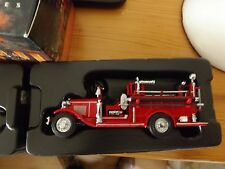 Matchbox models of yesteryear 1932 Ford AA open cab fire engine YFE09 Boxed.