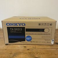 Brand New Onkyo AV Receiver Amplifier Tuner Stereo Original Box TX-SR313