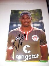 Signiertes Foto Fafa Picault FC St.Pauli NEU MEGA RAR