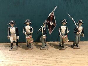 Cbg Mignot: Prussian Infantry Column Head,  c1805. Post War c1970
