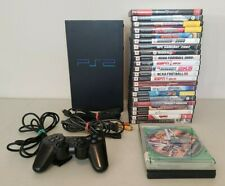 Sony Ps2 PlayStation 2 Fat Console Bundle With 16 Games 1 Controller Tested Read