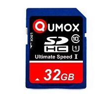 Qumox 32GB Class 10 Uhs-i SDHC SD Speicherkarte