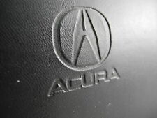 ACURA BLACK LEATHER CASE WITH KEY RING AND LITERATURE 2000 CLEAN AND UNDAMAGED