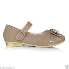 Chaussures décontractées marrons pour fille de 2 à 16 ans