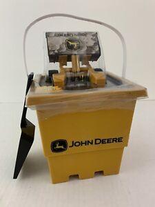 John Deere Skidsteer Shovel Bucket Set ERTL Kids Toys 3+ Sand Toy NEW