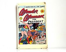 Wonder Woman for President #7 DC Comics 1943 Cardboard Poster