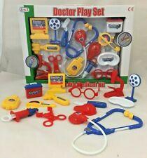 45Pcs Doctor Medical Toy Set Nurse Kid Role Play Pretend Kit Case UK
