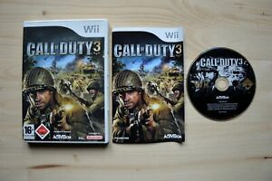 Wii - Call of Duty 3 - (OVP, mit Anleitung)
