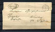 """Württ.  Postablage """"Böblingen-Döffingen"""" von 1870   (#346)"""
