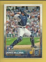 James McCann RC 2015 Topps Series 1 Rookie Card # 12 Detroit Tigers Baseball