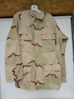 U.S. Military Surplus Desert BDU Jacket, Size MED Long