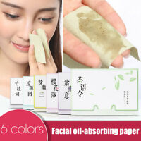 Facial Skin Oil Control Sheets Absorbing Tissue Face Blotting Clean Paper Wipes