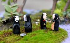4pcs/set studio Ghibli Spirited Away no face man figure Kid toy collection