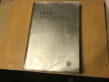 CHRYSLER VOYAGER WIRING DIAGRAM FACTORY MANUAL 1999 MY