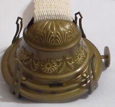 Embossed #2 Brass Queen Anne Oil Kerosene Lamp Burner NO.2  Antique Finish OB624