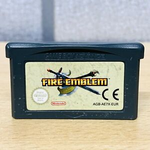 2004 FIRE EMBLEM Gameboy Advance (GBA) PAL (EU) Genuine *Tested* FREE POST