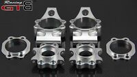 1/5 GTBRacing Alloy Rear Hub Set 2 Toe FOR hpi km rv baja 5b ss 5t 5sc GR016