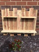 Core Products Corner Shelf Kit - Sanded Timber, Pack of 3