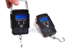 Portable Handheld Digital Luggage Scales Balance Weighing Suitcase Travel 40kg