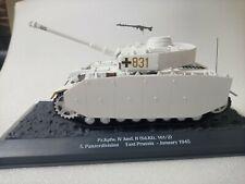Pz.Kpfw.IV Ausf.H East Prussia January 1945 1/43 Carro de combate Altaya
