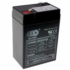 RiiRoo 6V 4AH Rechargeable Battery For Electric Kids Ride On Cars Bikes Quads