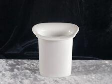 Arzberg Porzellan weisse Vase Designvase Tischvase 9,5 cm modernes Design