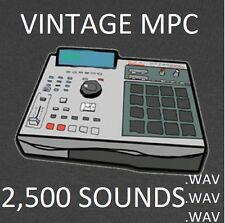 Vintage Akai MPC Drum Sounds 2500 Samples Kit .pgm .wav 60 3000 2000 1000 5000