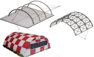 Sport Aviation Hangar  1:72 scale  Model Kit   (LASERCUT SET)  NEW             4