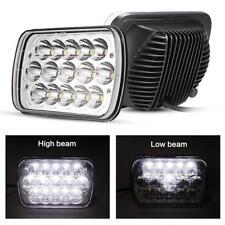 7x6'' LED Headlights 45W Clear Sealed Hi/Low Beam For GMC Savana 1500 2500 3500