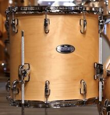 """Pearl Masters Complete MCT 18"""" Dia X 16"""" Deep Floor Tom/#111/Matte Natural Maple"""