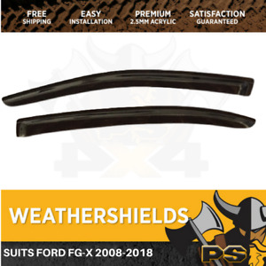Weathershields For Ford Falcon FG-X 2008-2018 FGX Window Visors All Models
