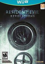 Resident Evil Revelations (Nintendo Wii U, 2013) Brand New