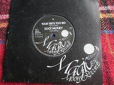 "Zoot Money Your Feets Too Big  Magic Moon Record Mach 3.S UK Vinyl 7"" 45 single"