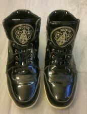 Mens Rare Vintage Gucci High Top Lace up Sneaker Size 42 Black
