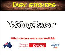 1100mm older Windsor Caravan Sticker Decal Vintage Replacement Quality Repair