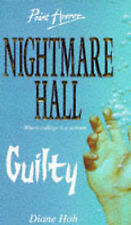 Guilty (Point Horror Nightmare Hall), Diane Hoh, Used; Good Book