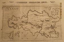 GREECE LASOR A VAREA 1713 MAP LANGO COS KOS