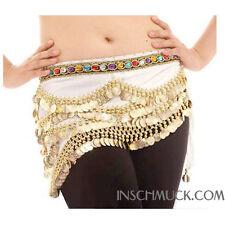 C91010 Huefttuch Belly Dance Carnival Coin Belt Belly