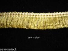 Cortina flecos 2.5cm corte recorte de tela pasamanería completa esponjoso