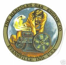 HERCULES GAS ENGINE  (1 PAIR)  VINYL STICKER (A133)