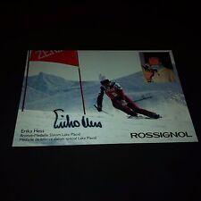 ERIKA HESS signed signiert 10x15 Autogrammkarte !