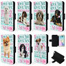 Personalised Dog Breed Samsung Case S8 S9 S10 Plus Flip Phone Cover Love Pet KP