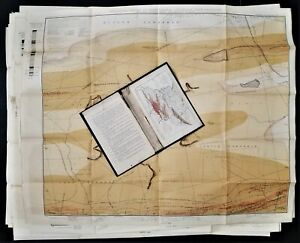 1889 antique ATLAS Southern ANTHRACITE FIELD part 2 w 13 MAPS pennsylvania mines