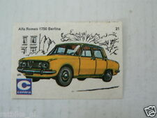 C21 CENTRA LUCIFERS,MATCHBOX LABELS OLDTIMER CAR ALFA ROMEO 1750 BERLINA